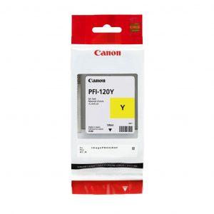 Canon PFI-120Y sárga tintapatron