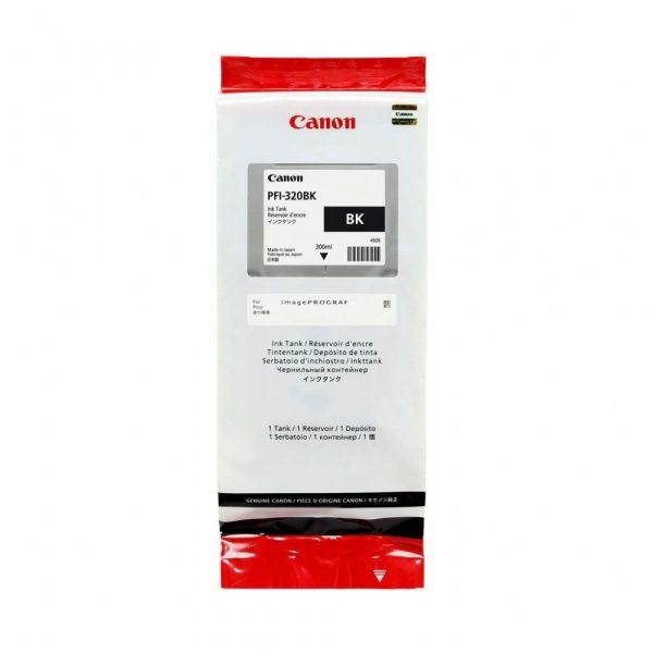Canon PFI-320Bk fekete tintapatron