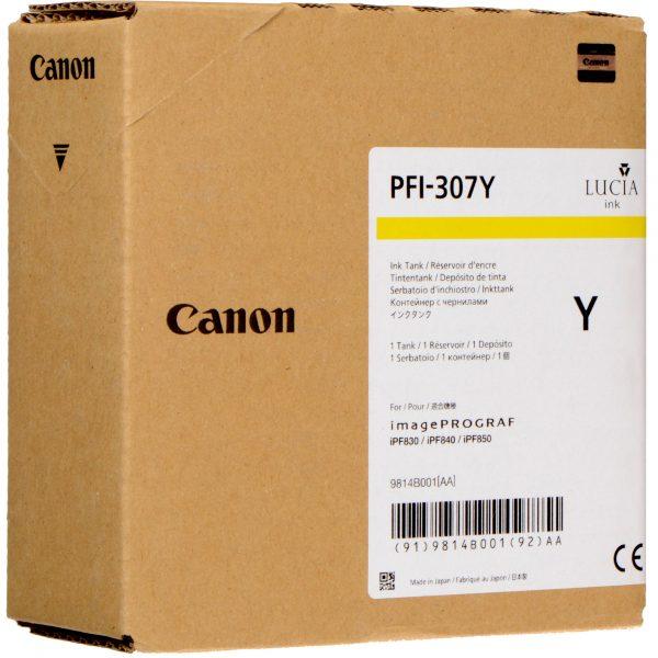 Canon PFI-307Y sárga tinapatron