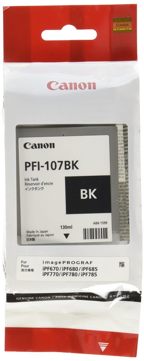 Canon PFI-107Bk fekete tintapatron