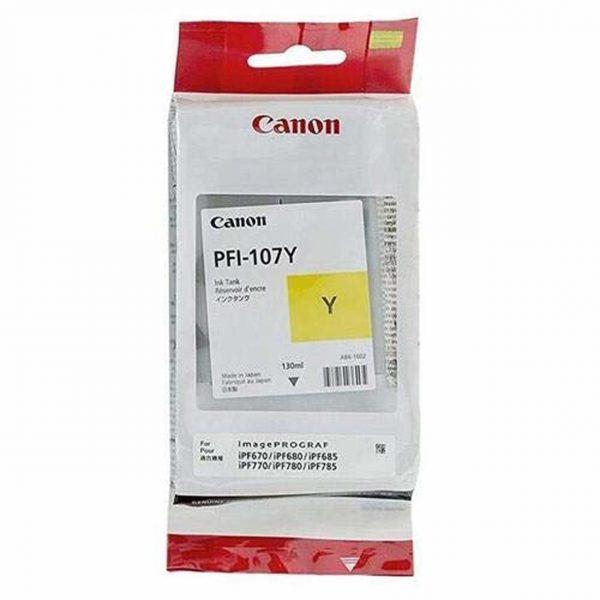 Canon PFI-107Y sárga tintapatron