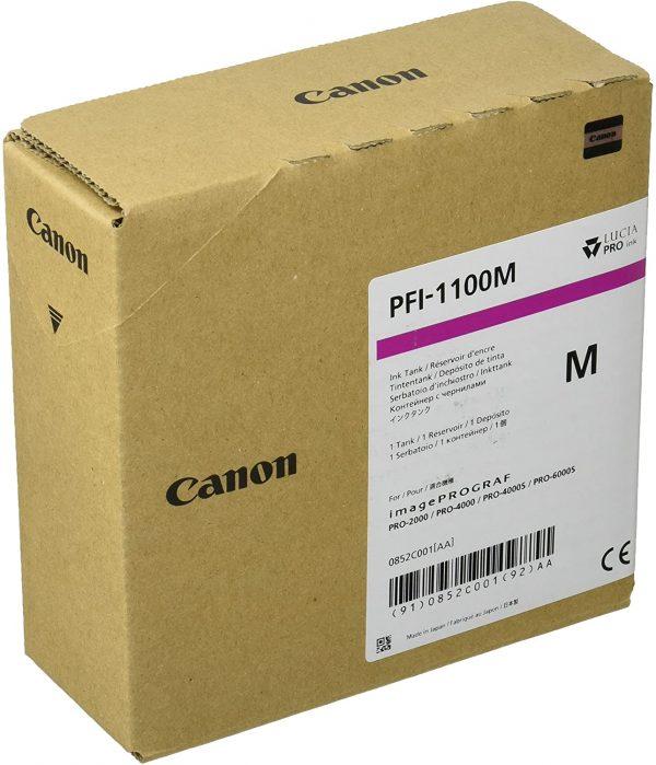 Canon PFI-1100M bíbor tintapatron