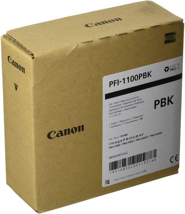 Canon PFI-1100PBK fotó fekete tintapatron