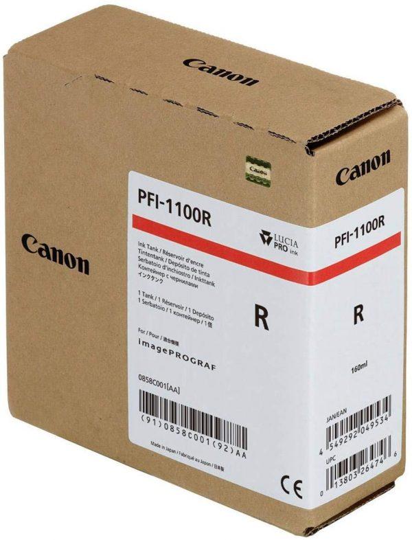 Canon PFI-1100R piros tintapatron