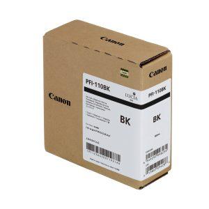 Canon PFI-110Bk fekete tintapatron