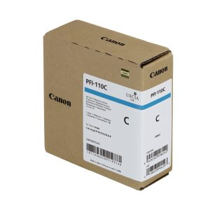 Canon PFI-110C ciánkék tintapatron