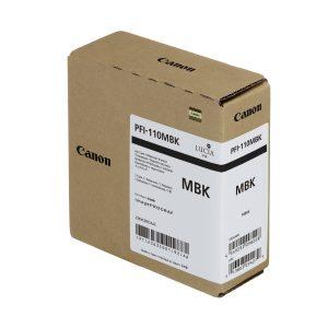 Canon PFI-110MBk matt fekete tintapatron