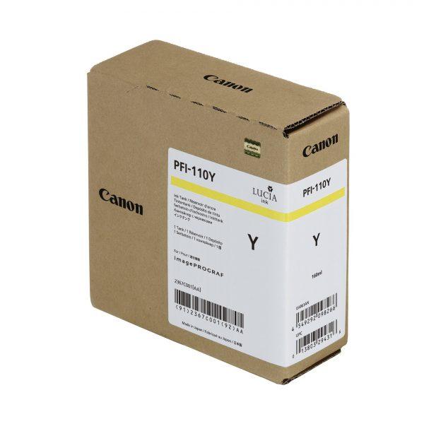 Canon PFI-110Y sárga tintapatron