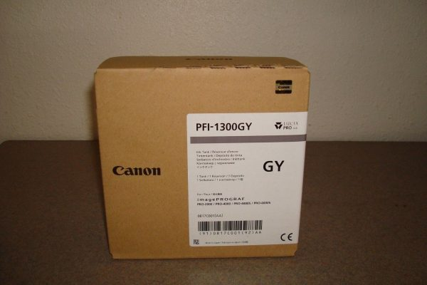 Canon PFI-1300GY szürke tintapatron