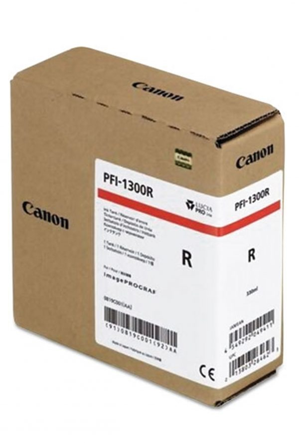 Canon PFI-1300R piros tintapatron