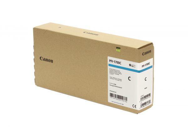 Canon PFI-1700C ciánkék tintapatron