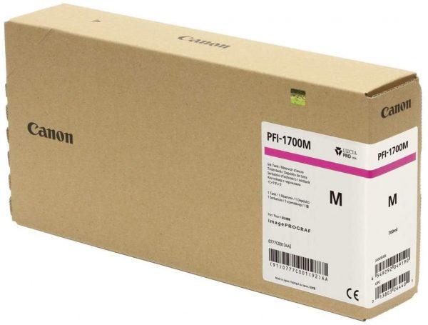 Canon PFI-1700M bíbor tintapatron