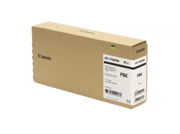 Canon PFI-1700PBk fotó fekete tintapatron