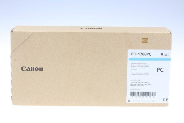 Canon PFI-1700PC fotó ciánkék tintapatron