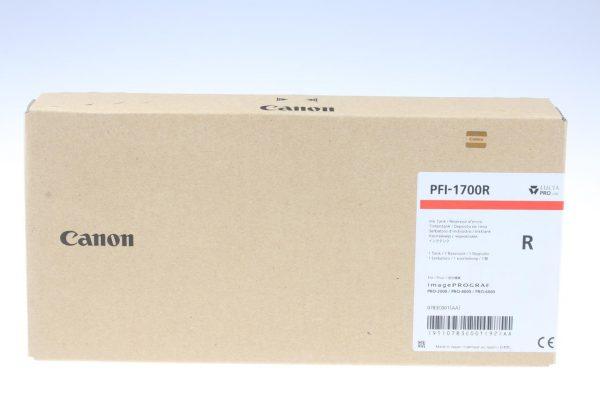 Canon PFI-1700R piros tintapatron
