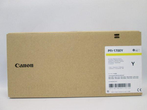 Canon PFI-1700Y sárga tintapatron