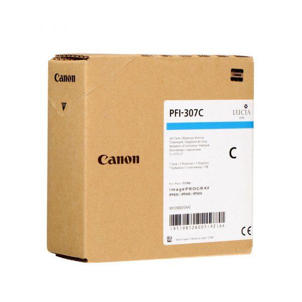 Canon PFI-307C ciánkék tintapatron