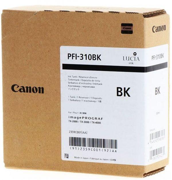 Canon PFI-310Bk fekete tintapatron