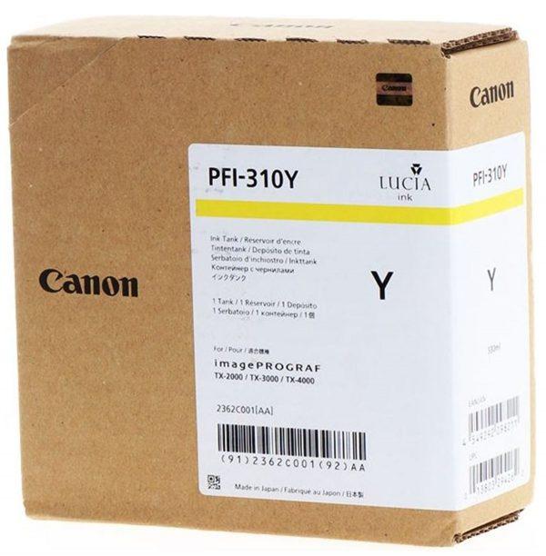 Canon PFI-310Y sárga tintapatron
