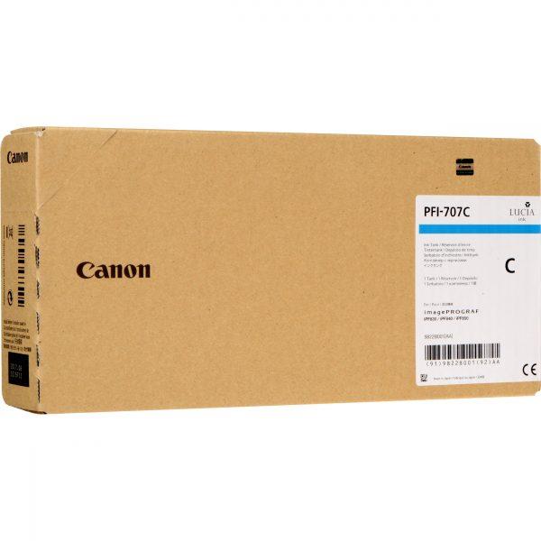 Canon PFI-707C ciánkék tintapatron