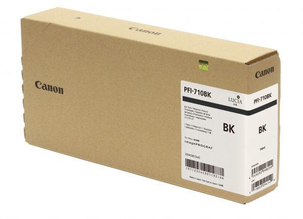 Canon PFI-710Bk fekete tintapatron
