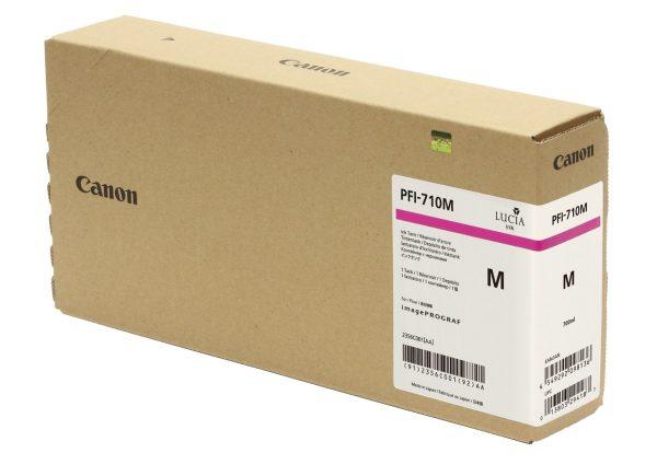 Canon PFI-710M bíbor tintapatron